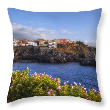 Tenerife - Alcala Throw Pillow