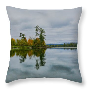 Tennesse River Throw Pillow