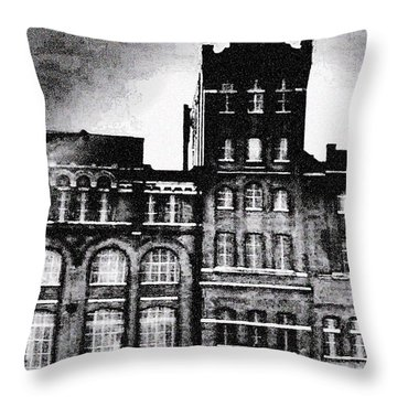 Throw Pillow featuring the photograph Tennessee Brewery by Lizi Beard-Ward