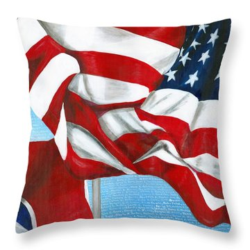 Tennessee Heroes Throw Pillow