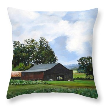 Tennessee Sky Throw Pillow