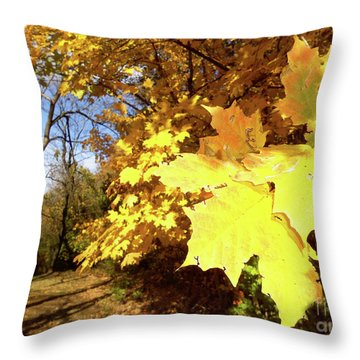 Tennessee Trees 2 Throw Pillow