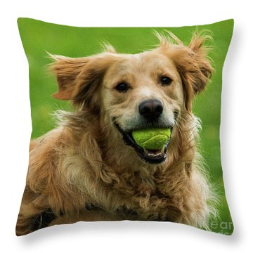 Tennis Is On ..wanna Play? Throw Pillow