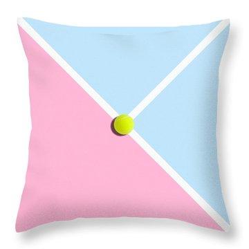 Tennis Throw Pillow