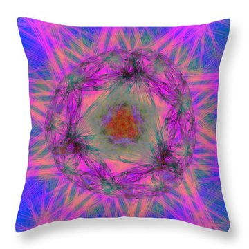 Tenographs Throw Pillow