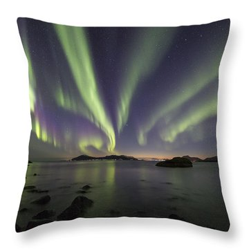 Tentacles In The Sky Throw Pillow