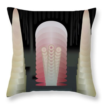 Tentaclon Throw Pillow