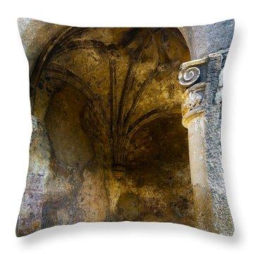 Tepoztlan Jewel Throw Pillow by John Bartosik