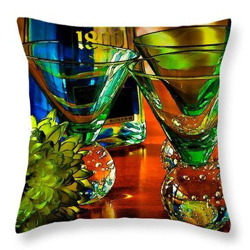 Tequila Ready Throw Pillow