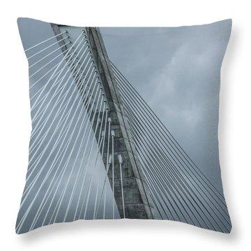 Terenez Bridge IIi Throw Pillow