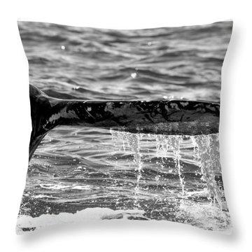 Terminal Dive Throw Pillow