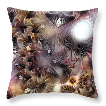 Terminating Turpitude Throw Pillow by Casey Kotas
