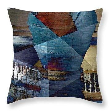 Terra Cotta Vase Throw Pillow