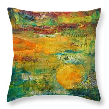 Terra Firma 2 Throw Pillow