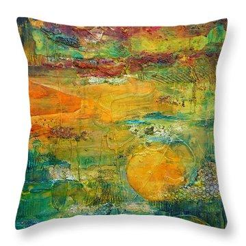 Terra Firma 2 Throw Pillow