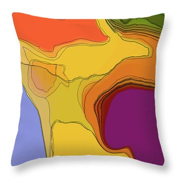 Terraced Throw Pillow