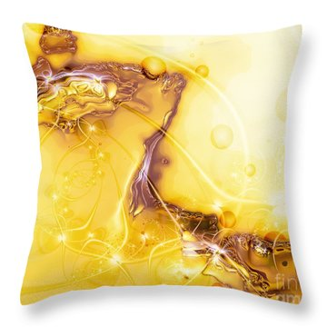 Terrain Of The Sun Throw Pillow