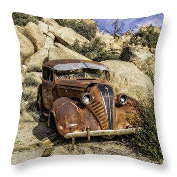 Terraplane Hudson  Throw Pillow