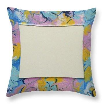 Terry's Mirror N. 212 Throw Pillow