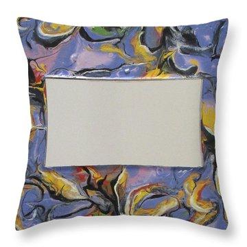 Terry's Mirror N. 305 Throw Pillow