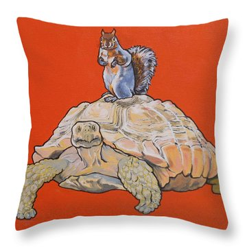 Terwilliger The Turtle Throw Pillow