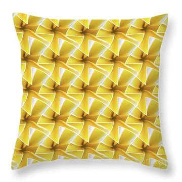 Tessel Flower Throw Pillow