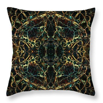 Tessellation V Throw Pillow
