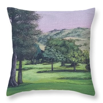 The Villages 1 Throw Pillow