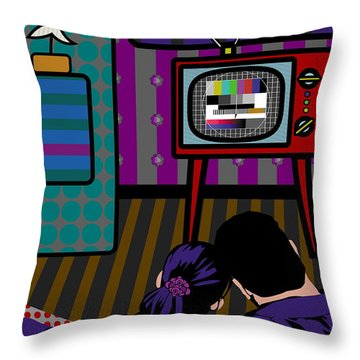 Testbild - Someone Should Invent A Remote Control Throw Pillow