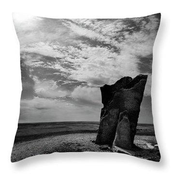 Teter Rock Hill Top View Throw Pillow