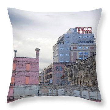 Teweles Seed Co Throw Pillow