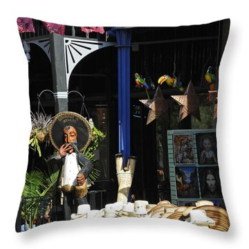 Tex-mex Throw Pillow by Steven Sparks