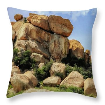 Texas Canyon Throw Pillow