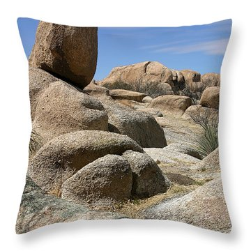 Texas Canyon Throw Pillow by Joe Kozlowski