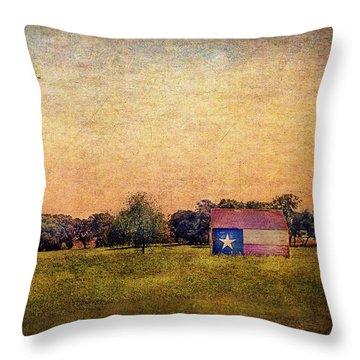 Texas Morn' Throw Pillow