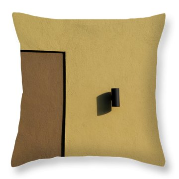 Texas Shadow Throw Pillow