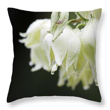Texas Yucca Throw Pillow