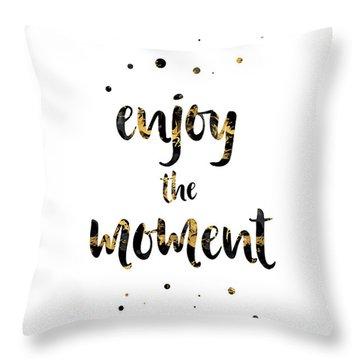 The Joy Of Life Throw Pillows