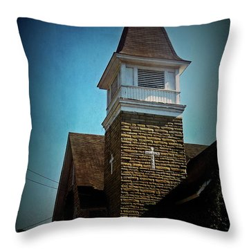 Throw Pillow featuring the photograph Texture Drama Cathedral Cafe by Aimee L Maher Photography and Art Visit ALMGallerydotcom