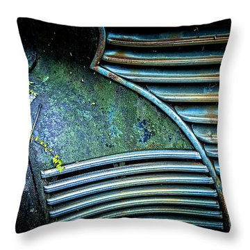 Textured Grille Throw Pillow