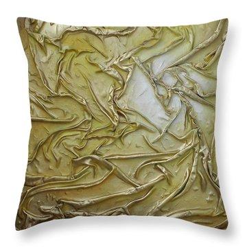 Textured Light Throw Pillow
