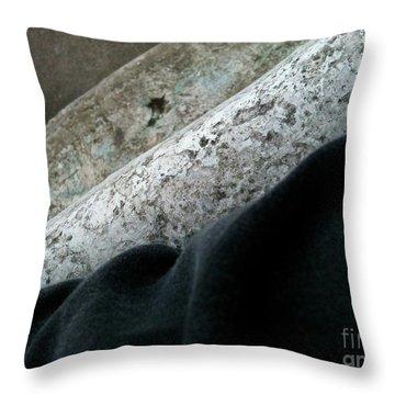 Textureflow Throw Pillow