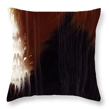 Textures Throw Pillow by Constance Krejci