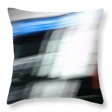 Throw Pillow featuring the photograph TGV by Steven Huszar