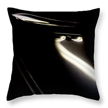 Throw Pillow featuring the photograph Th Art by Paul Job