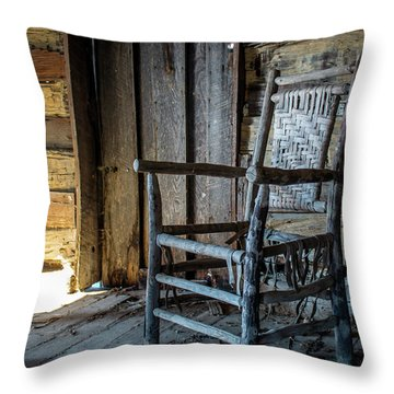 Thacker Cabin Chair Throw Pillow