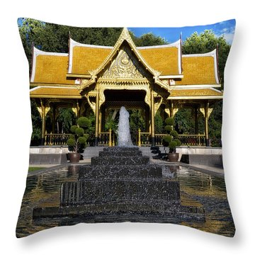Thai Pavilion - Madison - Wisconsin Throw Pillow