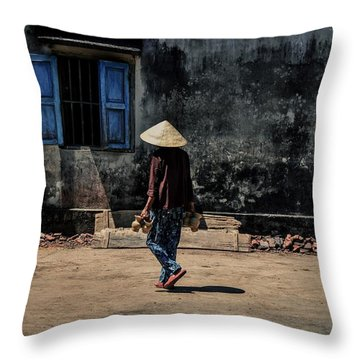 Thanh Ha Ceramic Throw Pillow