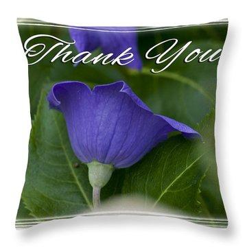 Thank You Balloon Throw Pillow