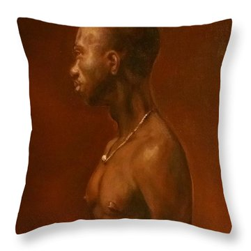 Vincent After Jacob Collins Throw Pillow